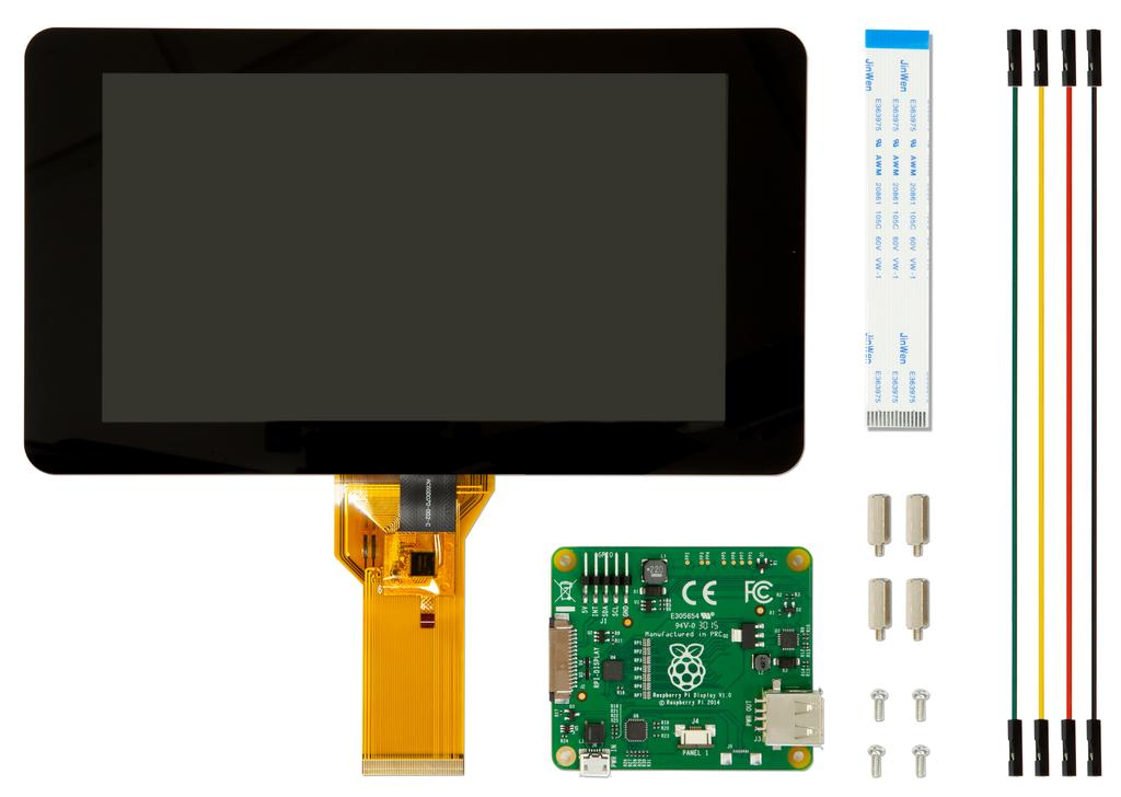 Raspberry Pi 7'' Touch screen Display