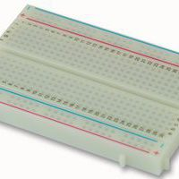 BREADBOARD, 400 PIN, WHITE