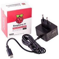 Official Power supply 5.1V 3Amp PI4 Black